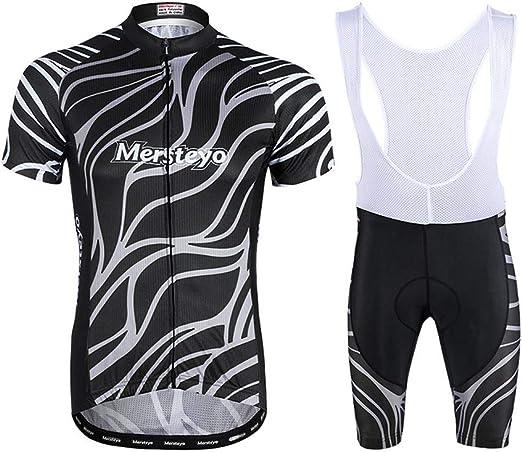 jersey Trajes De Ciclismo para Hombre Manga Larga + Pantalones ...