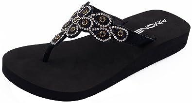 deaa79f43d65 AIMONE Women s Aviva Flip Flop Sandals (6 B(M) US