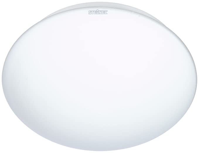 Steinel RS 16 L blanco - Lámpara sensor de techo para el interior, con 360° Detector de movimiento, Sensor invisible con técnica de alta frecuencia, ...