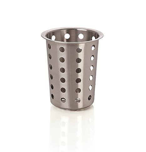 Kerafactum® – Redondo cubiertos cesta Escurreplatos para cubiertos y piezas pequeñas lavavajilla lavavajilla cesta universal