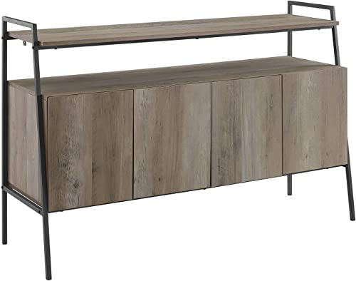 Walker Edison Urban Industrial TV Stand Console