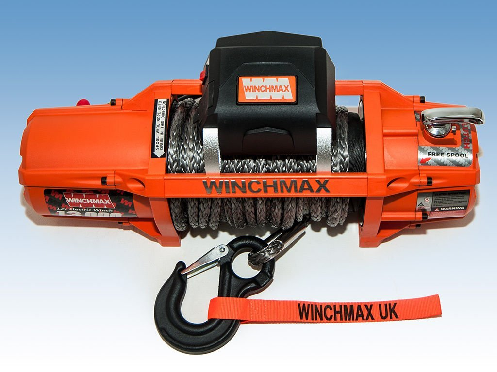 Electric Winch 12v 4x4 13500 Lb Sl Winchmax Brand Synthetic Rope Wiring Instructions Model Car Motorbike