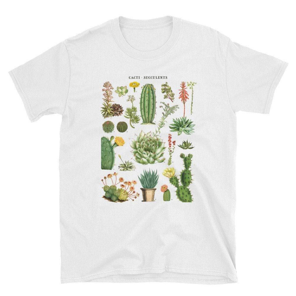 Cactus Succulents Tshirts S S Longsleeve