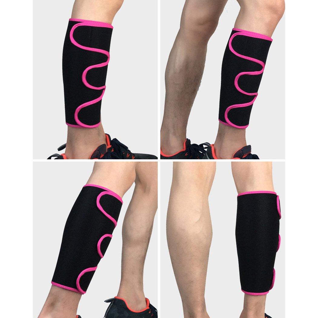 Fansport Sport Leg Compression Sleeve Correa para La Pierna Soporte Outdoor Adjustable Calf Support para La Manga