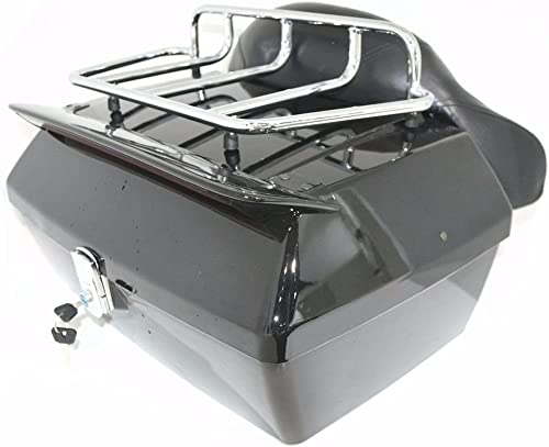 Universal Motorcycle Trunk Tour Pack Tail Box Luggage
