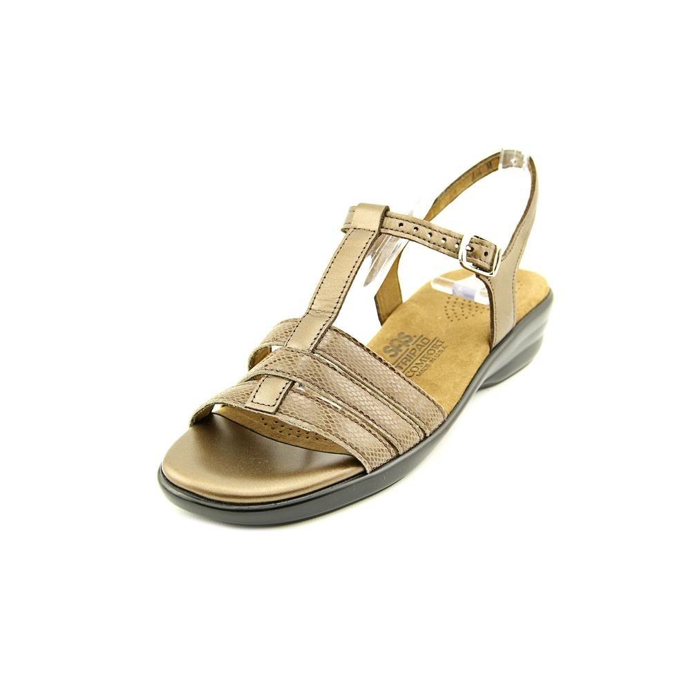 SAS Women's Capri Sandals B01MQ0R0MA 7 WW - Double Wide (D) US Bronze Snake