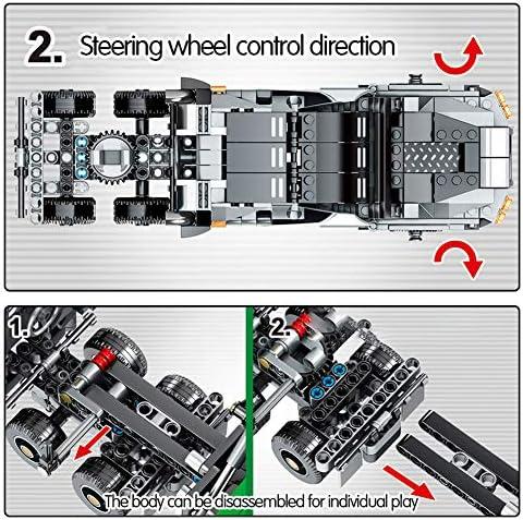 1205PCS Auto Bouwstenen Set 3D Montage Voertuig Bouwstenen Educatief Leren Bouwstenen Speelgoed Voor Kinderen Jongens Meisjes Leeftijd 6+