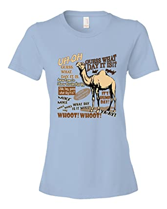 72651a54 Amazon.com: Hump Day Guess What Day It Is Commercial Camel Tee Shirt:  Clothing