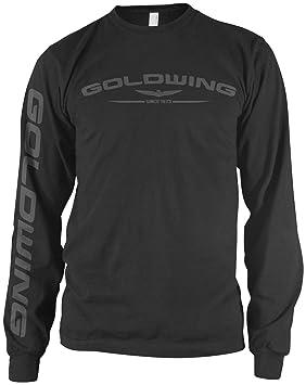 Honda para Hombre Goldwing manga larga camiseta: Amazon.es: Juguetes y juegos