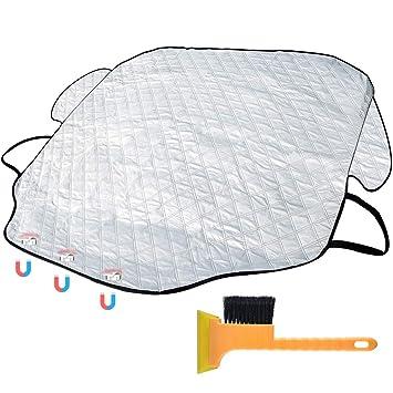 Amazon.es: Sorcon-uk Protector para Parabrisas Funda Protectora Coche para Parabrisas magnético Anti arañazos Material Resistente a la Intemperie Protege de ...