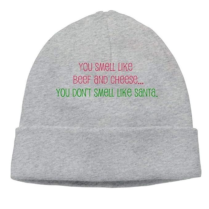 f08666cb19c Amazon.com  Kyliel Soft Beanies Cap-Funny Holiday Sayings Classic ...