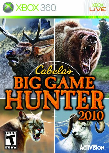 Cabela's Big Game Hunter – Xbox 360 (Game Only)