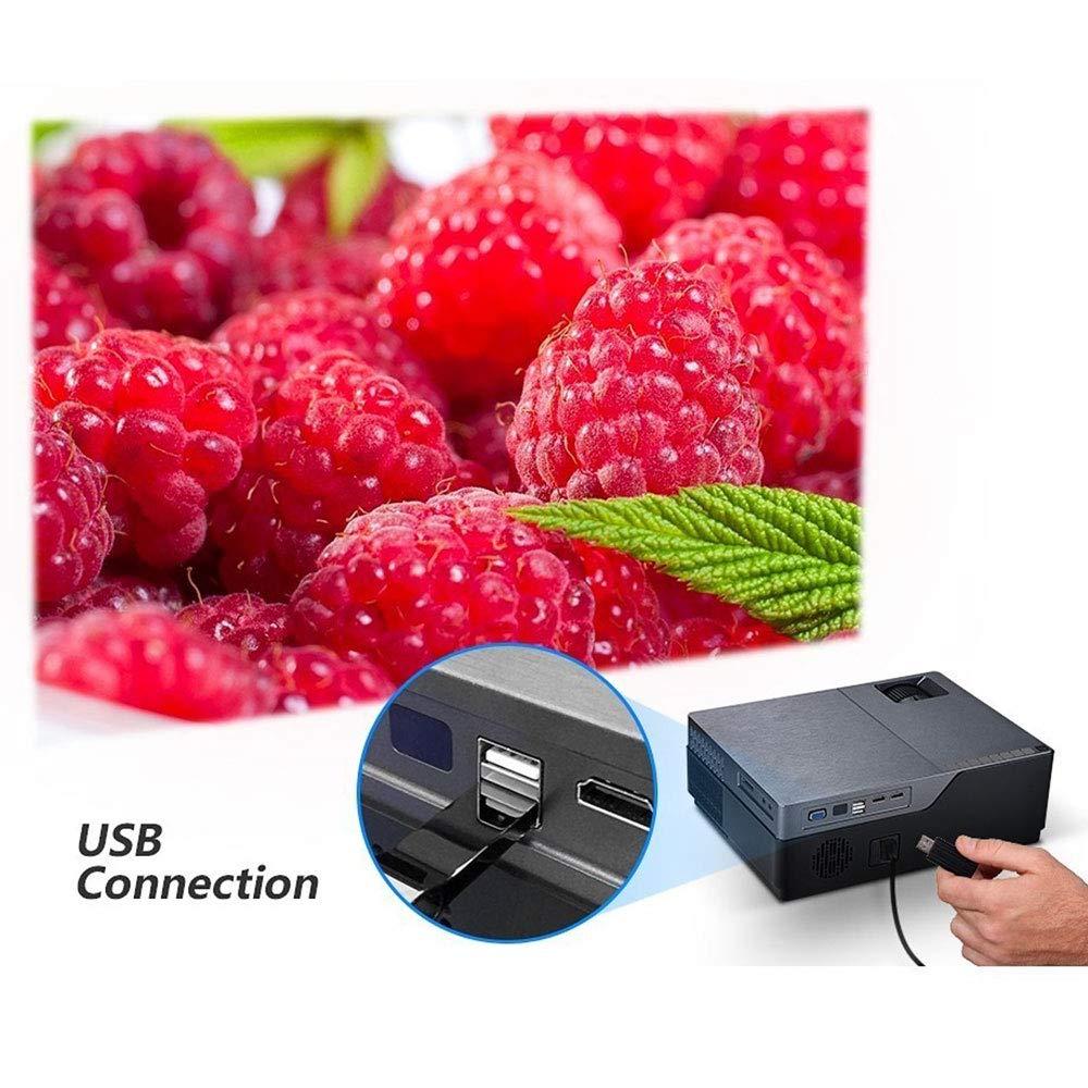 Lu Proyector, M18 1920 * 1080P resolución proyector de Audio para ...