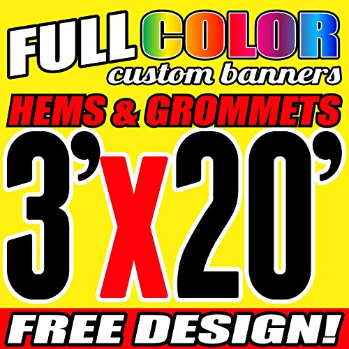 3' X 20' Banner - 7
