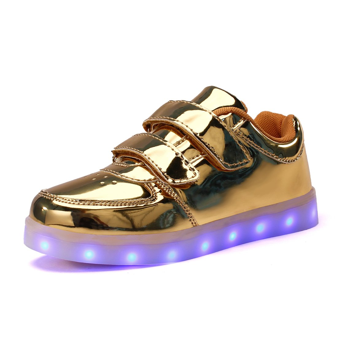 Kuuland Kids/Boys/Girls Light up Shoes LED Trainers Low-Top Flashing Sneakers