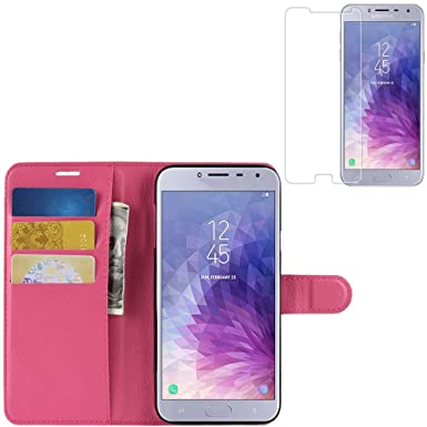 new concept 0d77e db91e KP TECHNOLOGY Galaxy J4 Case, Samsung Galaxy J4 Leather Case ...