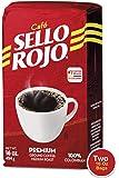 Cafe Sello Rojo | 哥伦比亚*畅销的咖啡品牌 | * 哥伦比亚中等烘焙研磨咖啡 | 优质咖啡 | 原产地包装 2 件装