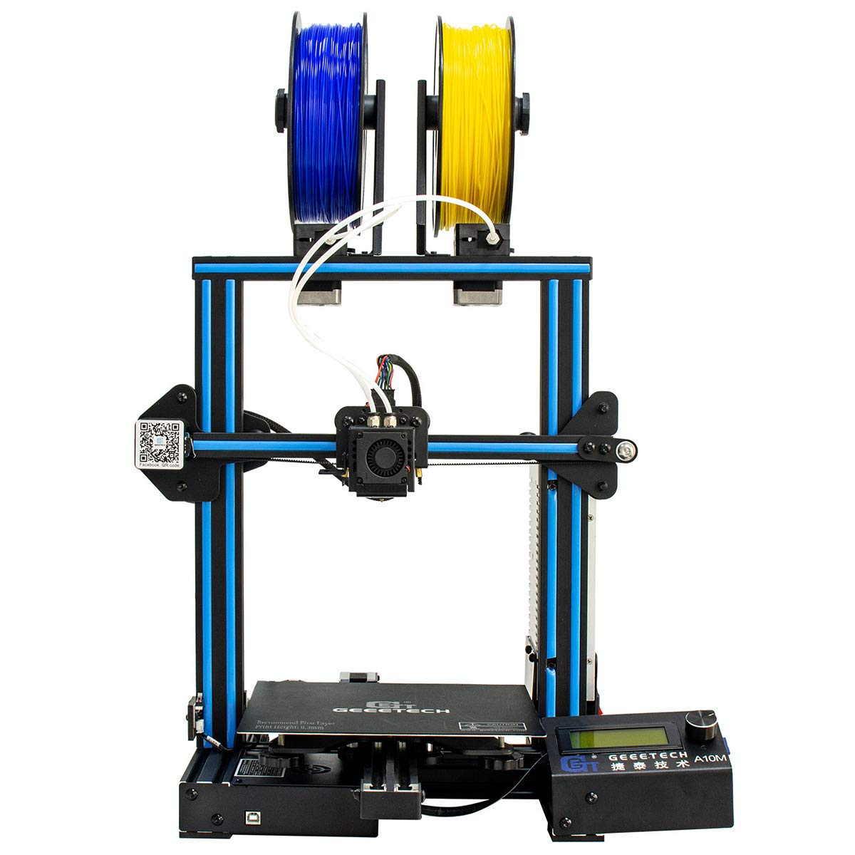GEEETECH New A10M 3D Printer with Mix-Color Printing ...