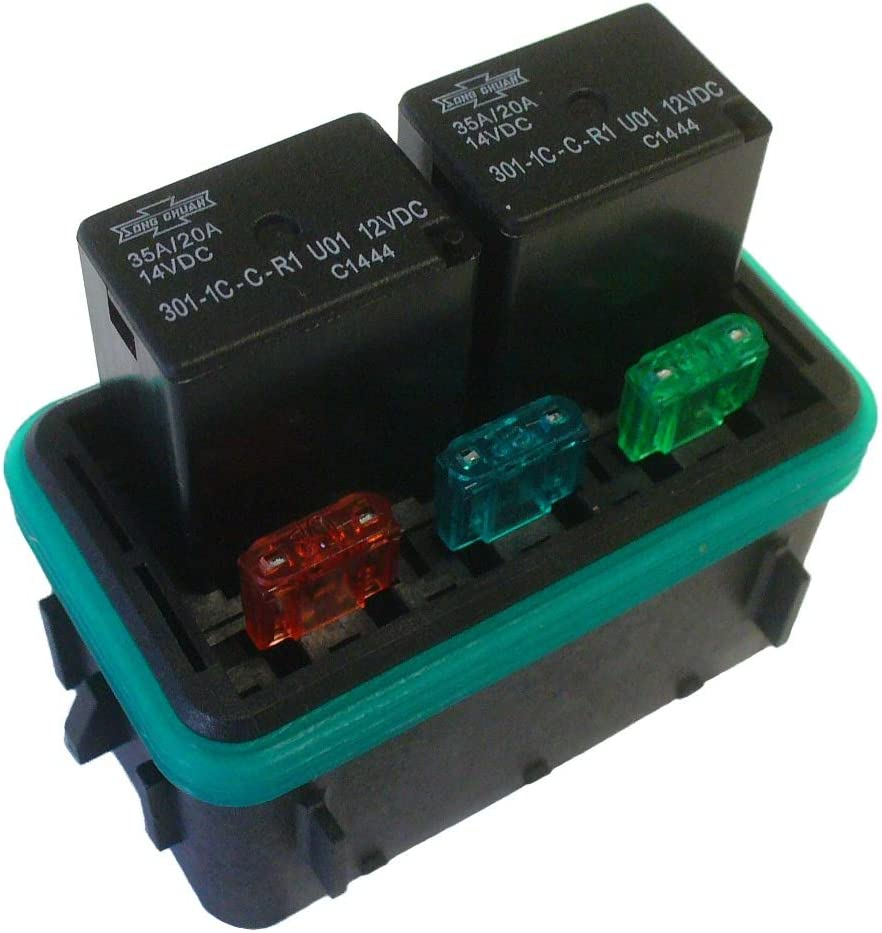 Concours Specialties DIY Waterproof Fuse//Relay Block Panel Car Truck ATV UTV RV Boat 4X4 Marine w//Relays