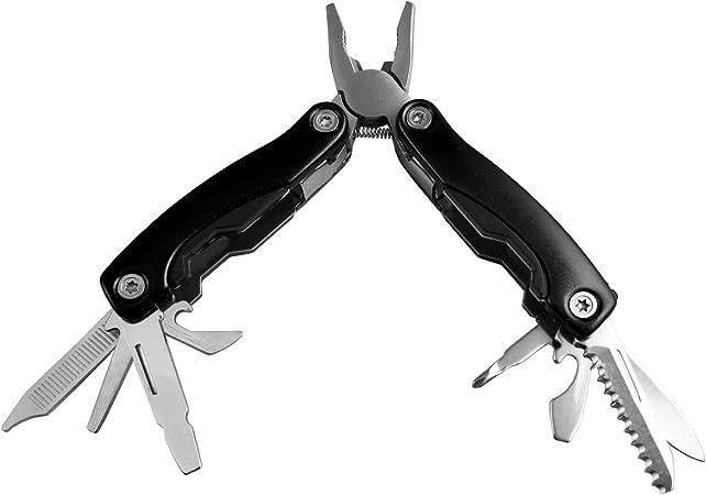 Stainless Steel Folding Mini multi-purpose Pliers Screwdriver EDC Outdoor Tools
