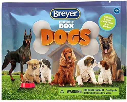 Reeves Breyer Pocket Box Dogs Blind Box