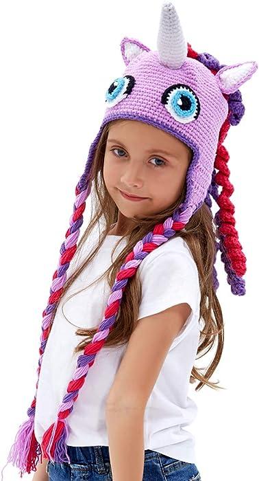 Bébé Bébé & Puériculture Tacobear Enfants Licorne Chapeau Hiver Bonnet Avec Écharpe Automne Tricot Chapeau Chaud bébé Garçons Filles