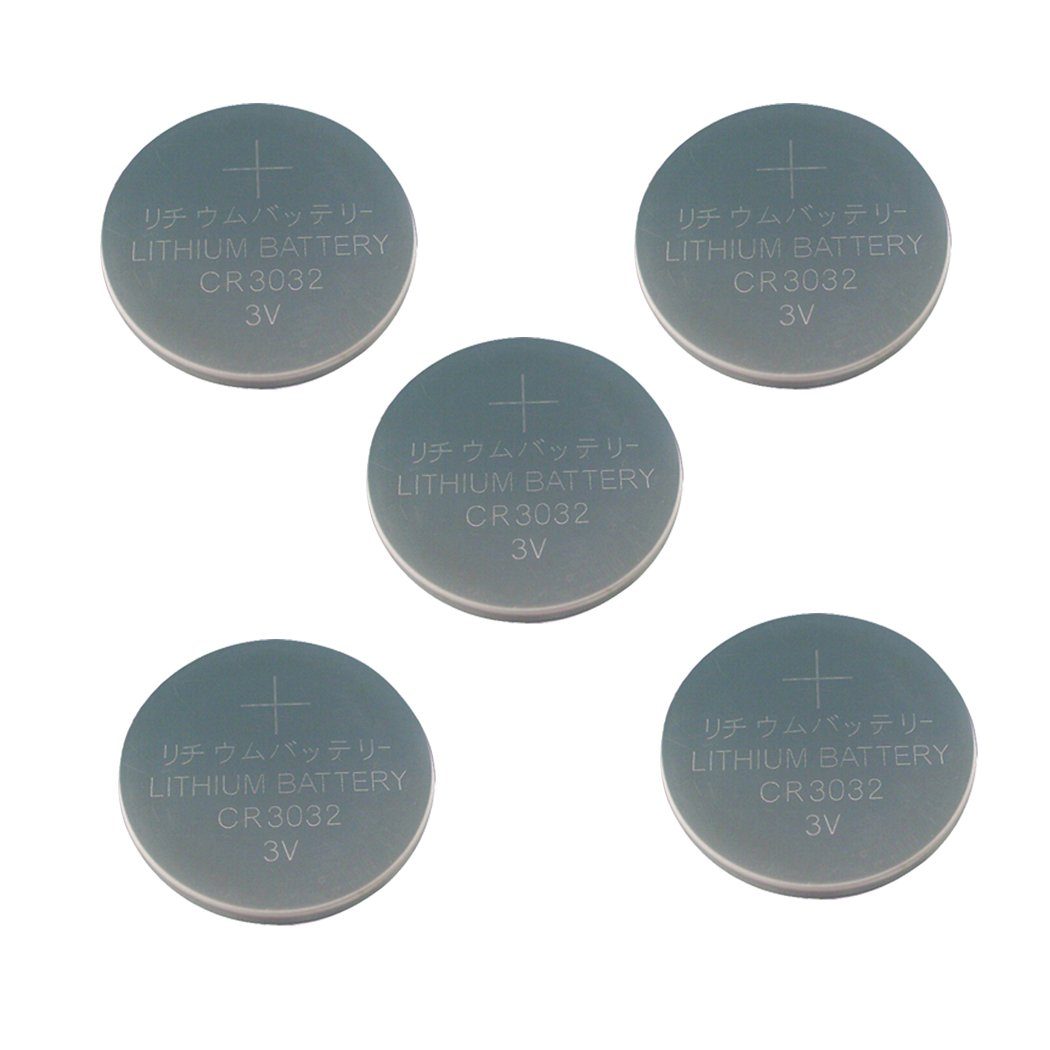 3V Lithium Button Cell Battery cr3032 (5pcs)