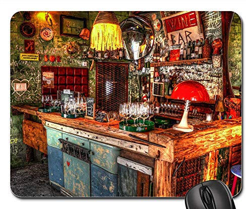 Mouse Pads - Bar Budapest Ruin HDR City Urban Hungary -