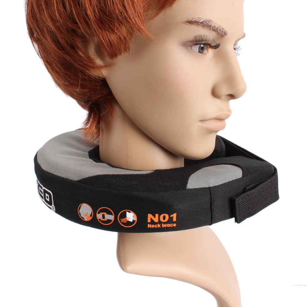 New Motrocycle Motocross Neck Roll Support Brace Protector Black N01