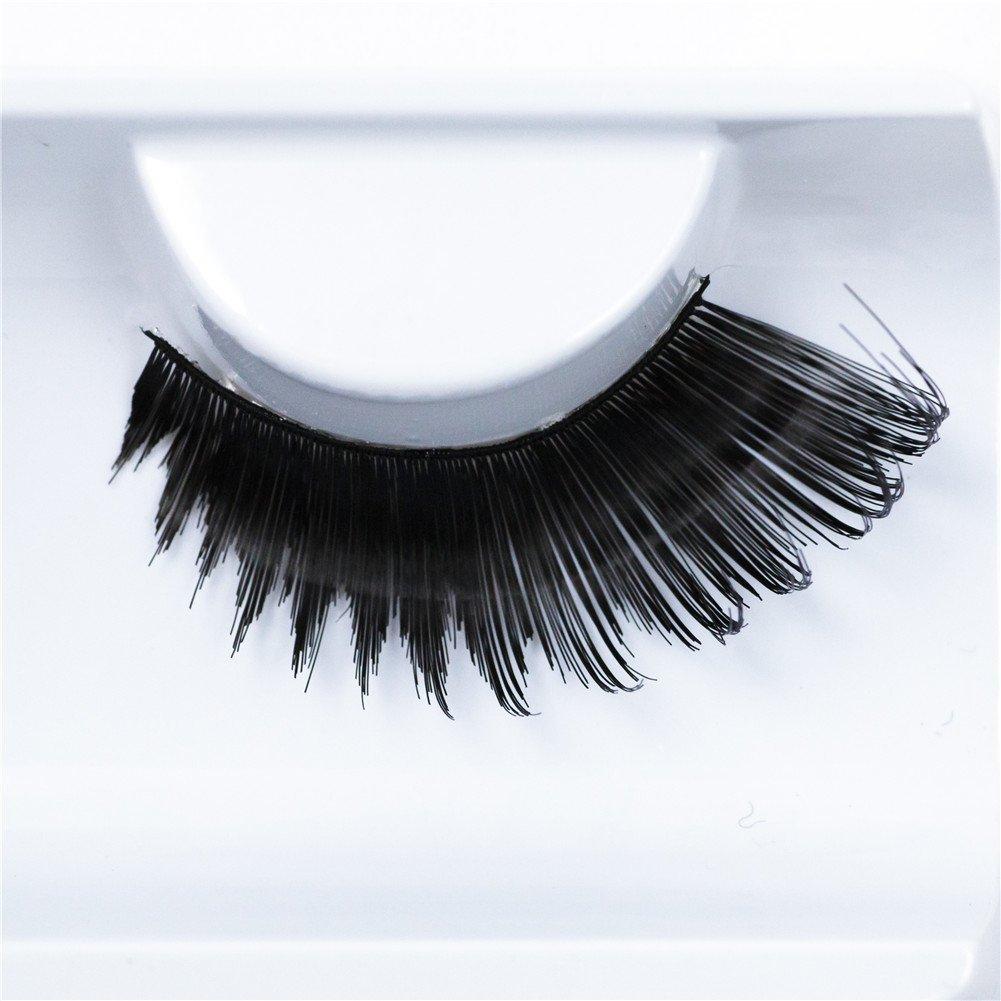 Imstyle - Ciglia sintetiche finte per make up per feste/look Drag Queen Celebrity-wig