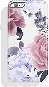 iPhone 6/6s case, Floral Design, Akna High Impact Flexible Silicon Case for Both iPhone 6 & iPhone 6s (782-U.S)