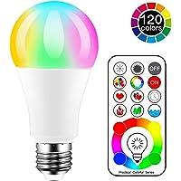 iLC Bombillas Colores RGBW LED Bombilla Cambio
