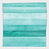 Vipsung Microfiber Ultra Soft Hand Towel-Teal Decor Collection Painted Wood Texture Penal Horizontal Lines Birthdays Easter Holiday Print Backdrop Turquoise For Hotel Spa Beach Pool Bath