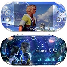 Premium Skin Decals Stickers For PlayStation VITA Slim 2nd Generation PCH-2000 Series Consoles Korea Made - POP SKIN Final Fantasy X | X-2 #08 + Free Gift Screen Protector Film + Wallpaper Screen Image