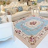 Rug WAN SAN QIAN- Economy Nordic Living Room Carpet Country Style Home Carpet Bedside Bedside Blanket Coral Villi Carpet (Size : 130x190cm)