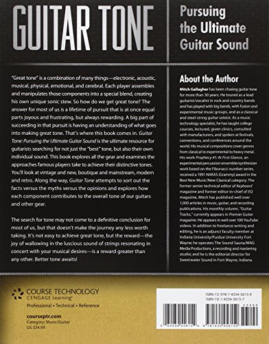 Guitar Tone: Pursuing the Ultimate Guitar Sound Paperback – November