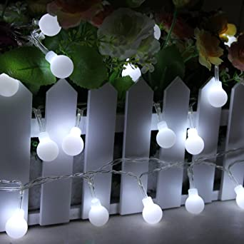 InnooTech LED Lichterkette Globe Gluehbirne Innen Beleuchtung ...