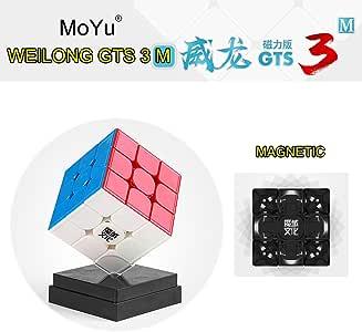 Gobus MoYu WeiLong GTS3M Cubo mágico GTS 3M Cubo Cubo Rompecabezas de Velocidad Juguete con un Soporte de Cubo y una Bolsa de Cubo: Amazon.es: Juguetes y juegos