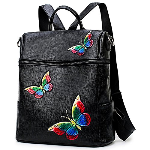 Women Classic Newst Fashion Butterfly Shoulder Bag Satchel Backpack School Bag by Jellybro