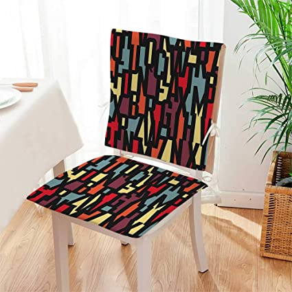 Incredible Amazon Com Beautiful Chair Cushion Trippy Style Modern Squirreltailoven Fun Painted Chair Ideas Images Squirreltailovenorg
