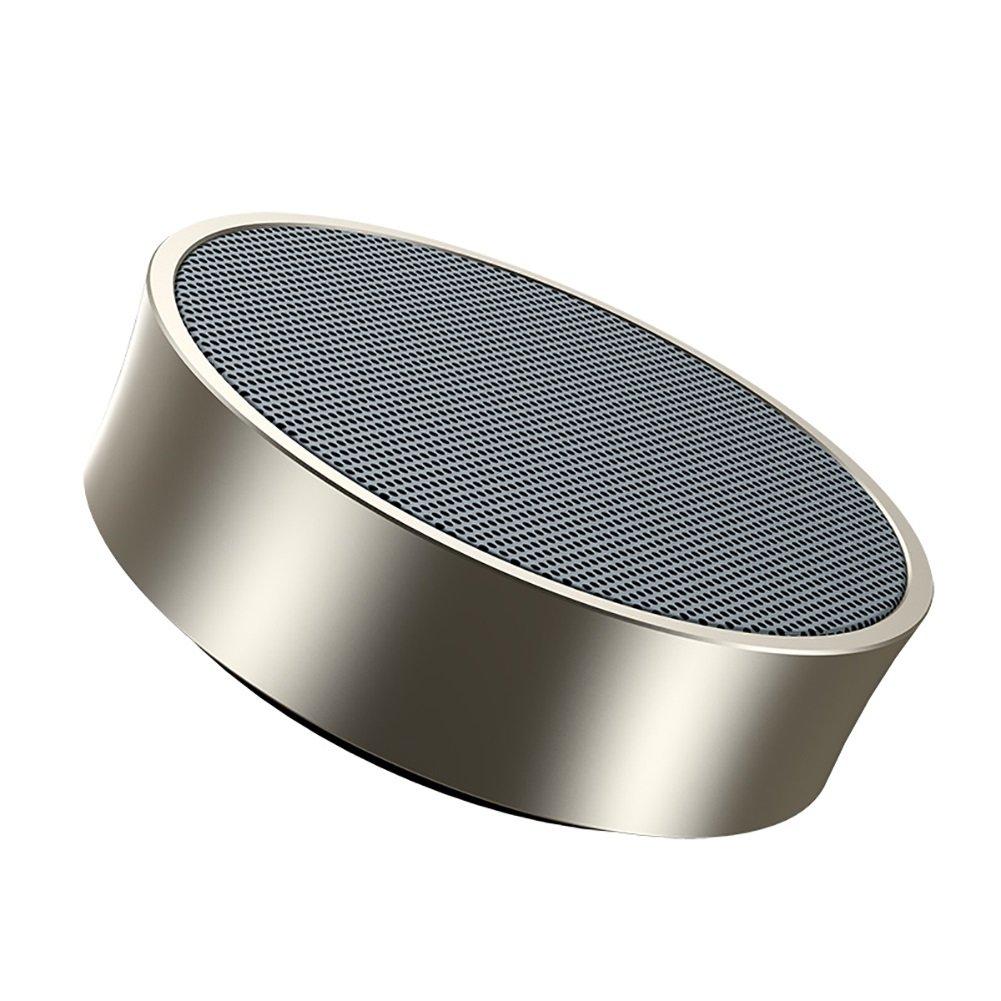 FXNN Audio マルチカラーワイヤレスBluetoothアウトドア小型スピーカーカープレイヤー 7.8*3.4*3.4cm ゴールド FXNN 010 7.8*3.4*3.4cm ゴールド B07KS452N2
