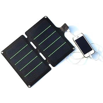 Cargador Solar PortáTil Plegable Telefono Movil Móvil Fuente ...