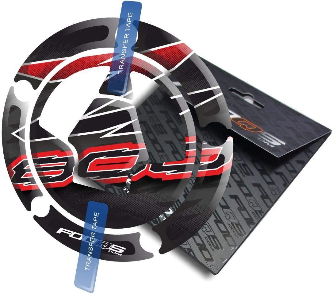 Cappad pour Kawasaki Z800 Z 800 Noir//Rouge
