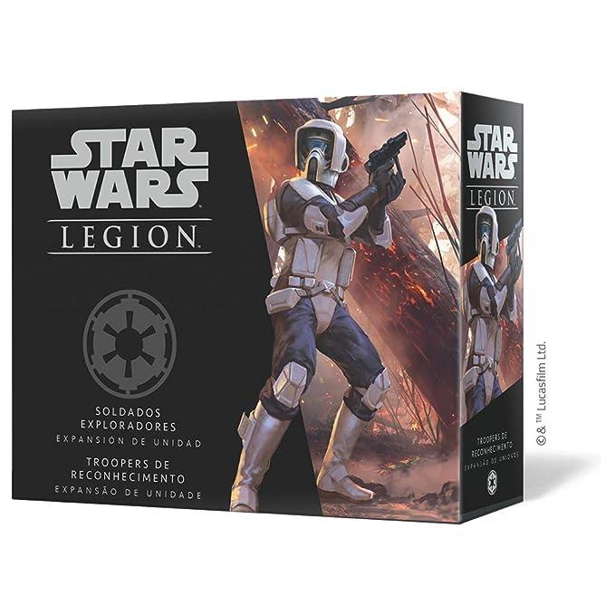 Fantasy Flight Games- Star Wars Legion: Soldados exploradores - Español, Color (FFSWL19)