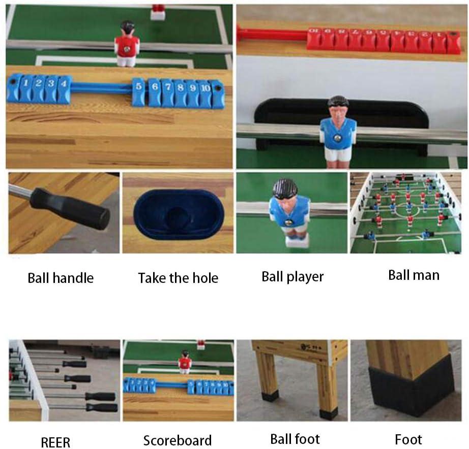 WXXW Futbolín De Mesa Juego Mesa De Fútbol Madera 137x 74 x 83 cm ...
