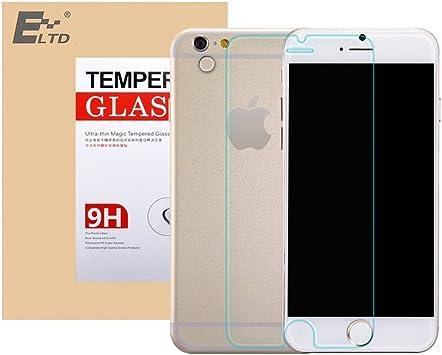 ELTD® Protector de vidrio templado de vidrio templado para iphone 6 plus 5.5 (Para iphone 6 plus 5.5 Inch, 1 pack): Amazon.es: Electrónica