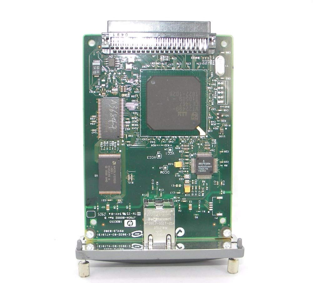 Printer Parts Network Card for 620N JETDIRECT J7934A 10/100tx Server Card Shipping Free for hp Laser Printer by Yoton