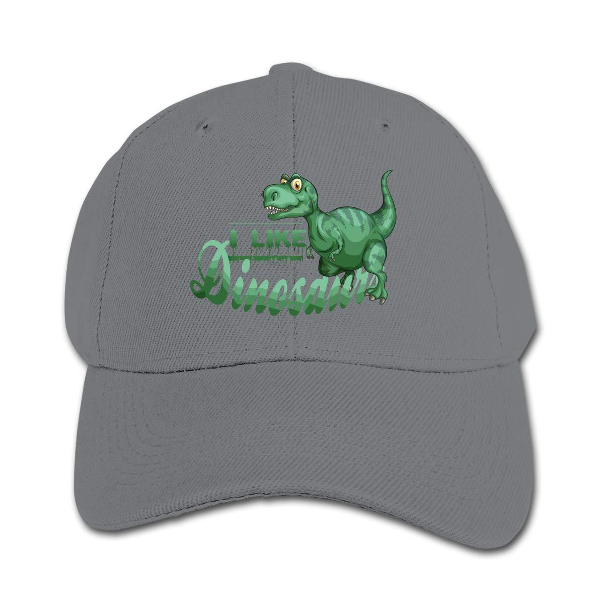 I Love Dinosaurs Trucker Cap Adjustable Baseball Hats Boy Girl