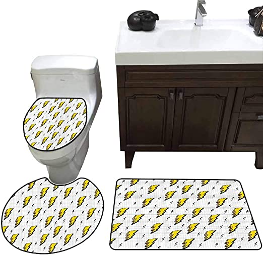 Custom Non-Slip The Flash Bathroom Floor Mat Bath Rug Soft Carpet Rug