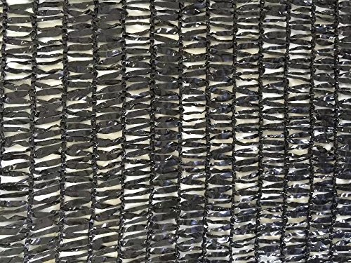 casidy 50% Black Bulk Shade Cloth UV Resistant Fabric for Greenhouse 10ft x 20ft - Greenhouse Shade Cloth